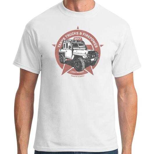 FIREPOWER LAND ROVER LIGHTWEIGHT T-SHIRT