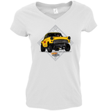 HENRY HI-RISE LADIES V-NECK T-SHIRT