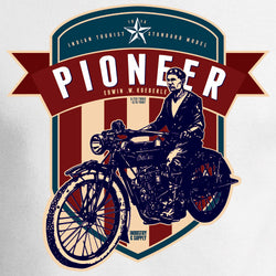 Edwin W Koeberle was a motorcycle pioneer. Industry & Supply.