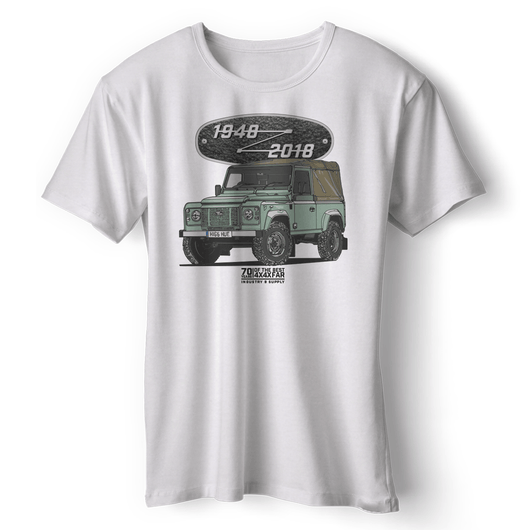 LAND ROVER THE LAST DEFENDER T-SHIRT