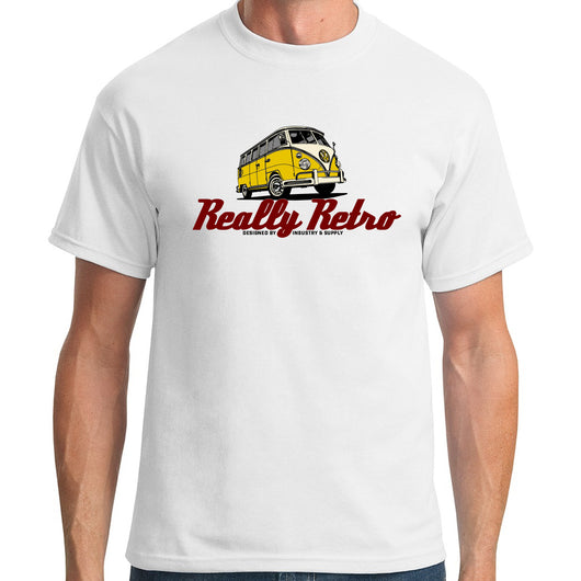 Really Retro Volkswagen White T-Shirt