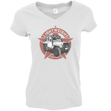 LIGHTWEIGHT LADIES V-NECK T-SHIRT
