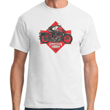 Henderson Motorcycle White T-Shirt