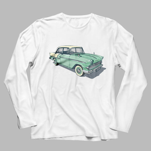 '61 VAUXHALL F TYPE LONG SLEEVE T-SHIRT