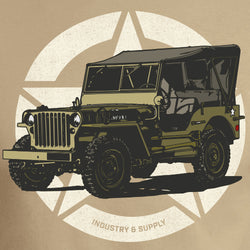 1944 WILLYS JEEP T-SHIRT