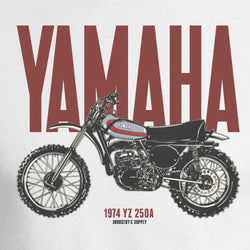 Yamaha Dirt Bike 1974 YZ 250A Digital