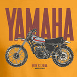 Yamaha Dirt Bike YZ250A Digital Artwork