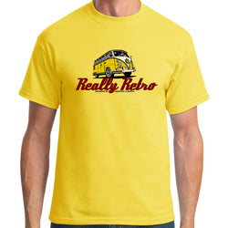 Really Retro Volkswagen Yellow T-Shirt