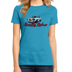 Really Retro Ford Escort MK1 RS2000 Aqua T-Shirt