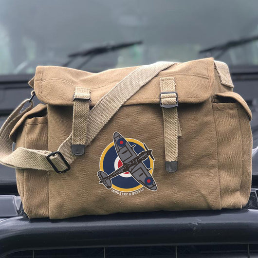 ARMY SURPLUS SPITFIRE ADVENTURE BAG (NOT ISSUED)