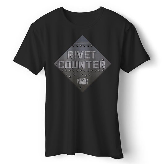 THE RIVET COUNTER T-SHIRT
