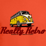REALLY RETRO VW BUS LONG SLEEVE T-SHIRT