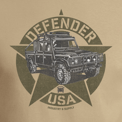 LAND ROVER USA DEFENDER PICKUP T-SHIRT