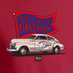 PIKES PEAK 1948 CHEVY PACE CAR (V2) T-SHIRT