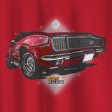 NO.4 LIMITED EDITION COVER CHEVROLET CAMARO RS/SS LONG SLEEVE T-SHIRT