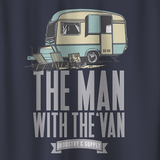 THE MAN WITH THE VAN T-SHIRT