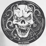 Tony the Engraver Skull Design Industry & Supply
