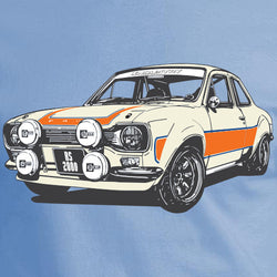 ford escort mk1 rs2000 original art