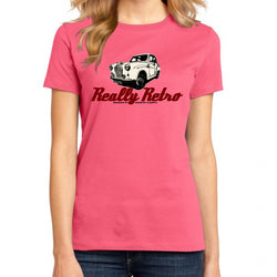 REALLY RETRO AUSTIN A35 T-SHIRT FOR WOMEN