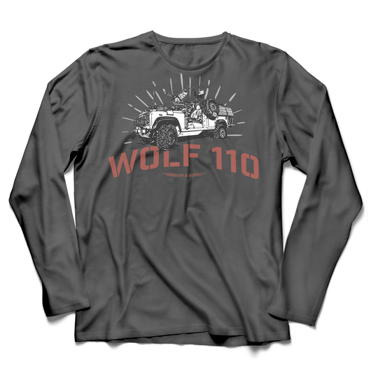 UTILITY WOLF 110 LONG SLEEVE T-SHIRT