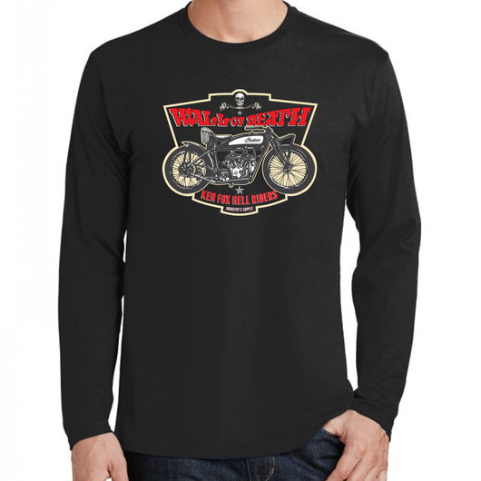 Wall of Death Black Long Sleeve T-Shirt
