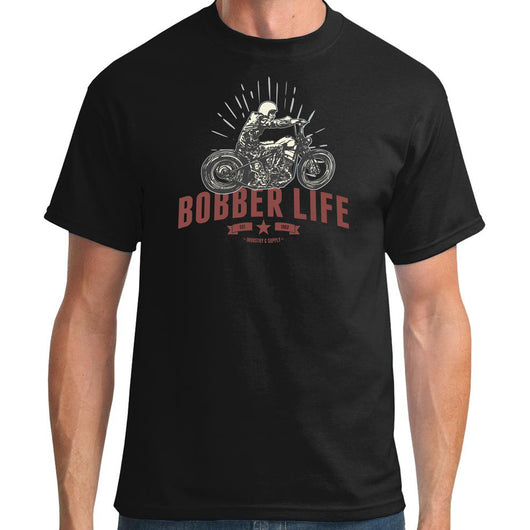 Bobber Life Black T-Shirt