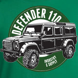 Land Rover Defender 110 Kelly Green Design