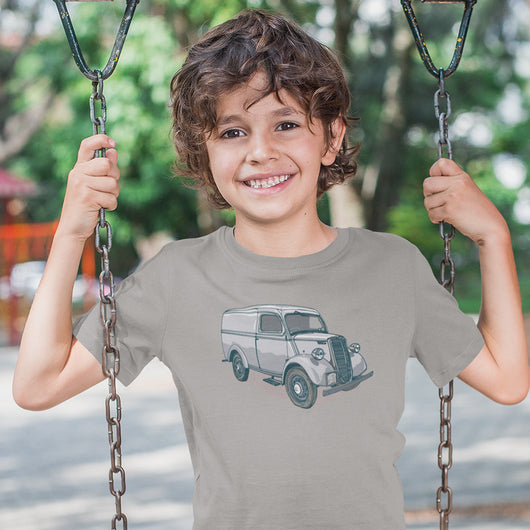 FORD E83W VAN KIDS T-SHIRT