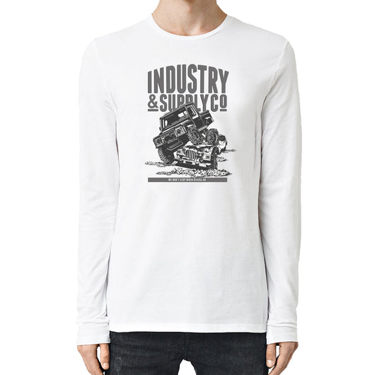 UTILITY WE DON'T STOP LONG SLEEVE T-SHIRT