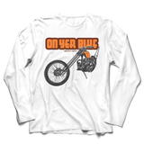 ON YER BIKE RETRO CHOPPER LONG SLEEVE T-SHIRT