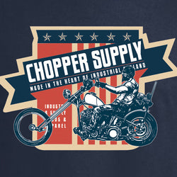 CHOPPER SUPPLY LONG SLEEVE T-SHIRT
