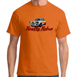 Really Retro Ford Escort MK1 RS2000 Orange T-Shirt
