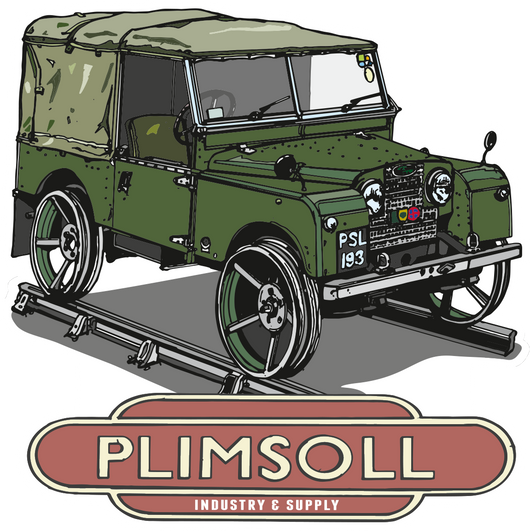 LAND ROVER PLIMSOLL STICKERS
