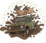 LIZARDILLO OFF-ROAD MUD CLUB T-SHIRT