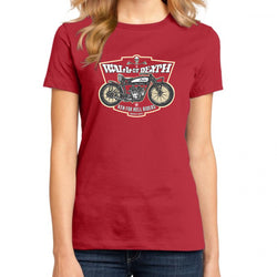 Wall of Death Women's Red T-Shirt