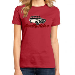 Really Retro Hillman Imp Women's T-Shirt Red