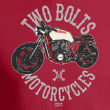 Two Bolts Motorcycles Red