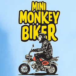 MINI MONKEY BIKER T-SHIRT FOR KIDS
