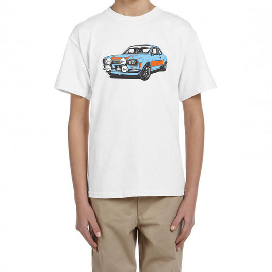 Ford Escort MK1 RS2000 Kids White T-Shirt