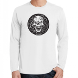 TONY THE ENGRAVER'S SKULL LONG SLEEVE T-SHIRT