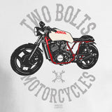 Two Bolts Motorcycles White