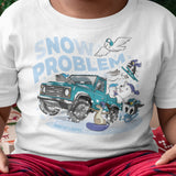 LIZARDILLO SNOW PROBLEM KIDS T-SHIRT