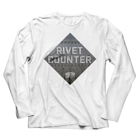 THE RIVET COUNTER LONG SLEEVE T-SHIRT