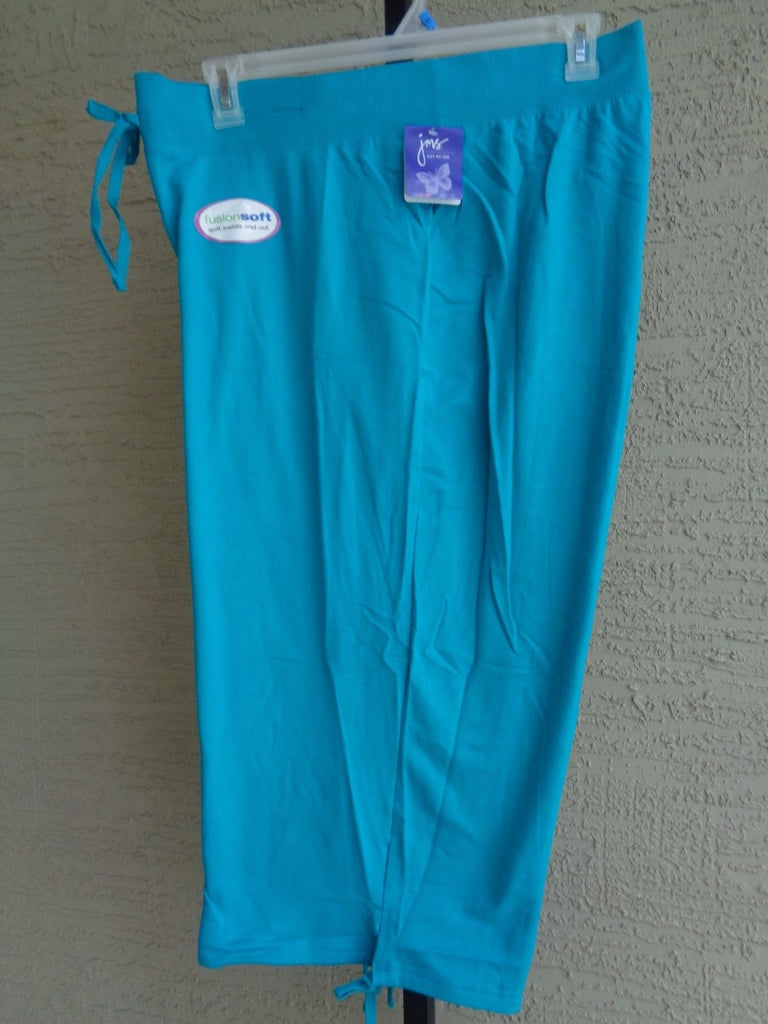 a63399a9b8af NWT Just My Size Cotton Blend French Terry Jersey Pull On Capris 4X Te –  Family Clothing Outlet Store