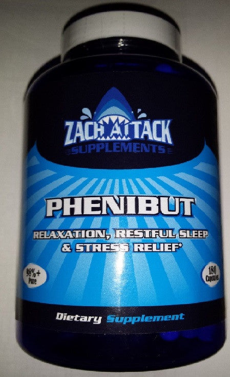 Introducing the New Phenibut Capsules from Zach Attack Supplements!
