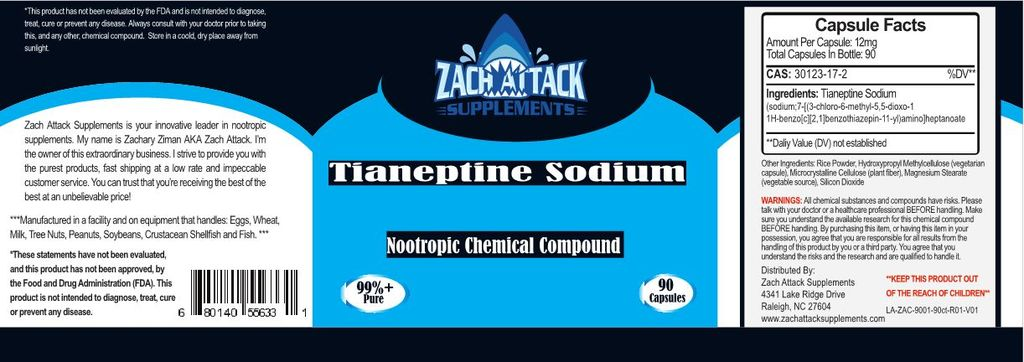 Facts About Tianeptine Sodium Capsules