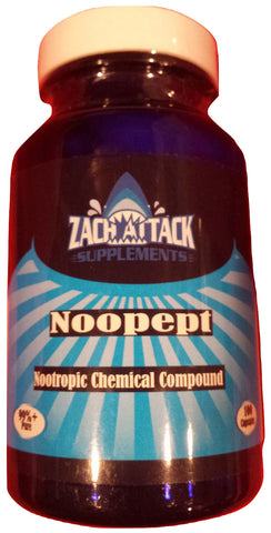 Buy Noopept 30mg/Choline 50mg Combo 100 Capsules - Zach Attack Supplements