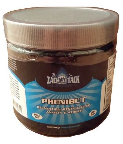 Buy Phenibut Powder 200 Grams | 99.4% Pure - Zach Attack Supplements