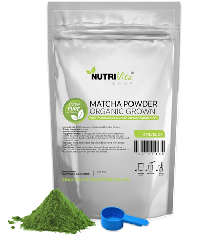 Japanese Matcha Green Tea Powder Organically Grown nonGMO - Zach Attack Supplements
