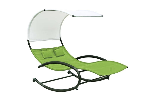 Vivere's Double Chaise Rocker - Lounger | Hamikk.com